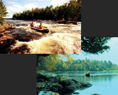 Maine River Guides Canoe